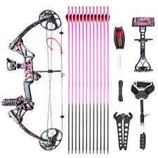 Women Compound Bow M1 Muddygirl Color 19�-30� Draw Length,10-50Lbs Draw Weight