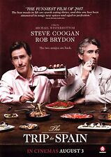The Trip to Spain A5 Poster (2017) - Steve Coogan, Rob Brydon