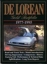 De Lorean 1977-1995 Oro Cartera Brooklands Libro De Road ensayos y artículos