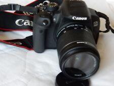 Canon EOS 700d reflex digitale con obiettivo 18-55mm