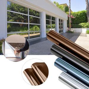 Fensterfolie Selbsthaftend Spiegelfolie Sichtschutzfolie Anti-UV Sonnenschutz DE