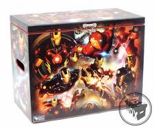 Large Comic Book Hard Storage Box Chest MDF Ironman