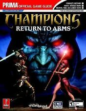 Champions: Return to Arms (Prima Official Game Guide) (