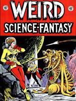 COMICS WEIRD SCIENCE FANTASY ALIEN PLANET GIRL SPACE USA POSTERPRINT ABB6488B