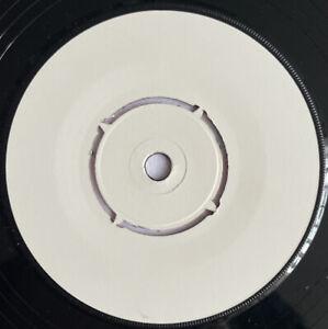 "U2 -Gloria- Rare UK 1-Sided Promo 7"" 3:45 DJ Edit White Label (Vinyl Record)"
