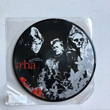 """A-HA PICTURE DISC 7"""" Record Analogue"""