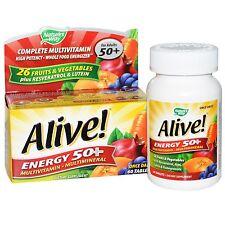 ALIVE! energia 50+ Multivitaminico & minerale - 60 Compresse by Nature'S WAY-età 50+