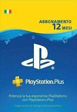PLAYSTATION PLUS Abbonamento 12 Mesi CONSEGNA IMMEDIATA 24/7 *LEGGI DESCRIZIONE*