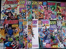 Avengers 300-325 (Vol.1) Full Run  FN/VF New Team Line-Up, Spider-Man Teams-Up +