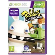 Xbox 360 Kinect - Rayman Rabbids Alive and Kicking **New & Sealed** UK Stock