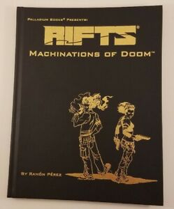 RIFTS Machinations of Doom Gold Hardcover Limited Ed 198 of 400 Graphic Novel