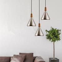 Kitchen Pendant Lighting Bar Lamp Wood Bedroom Pendant Light Home Ceiling Lights