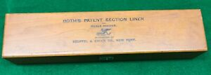 BOTH'S PATENT DRAFTING SECTION LINER & SCALE DIVIDER: MFG. BY KEUFFEL & ESSER