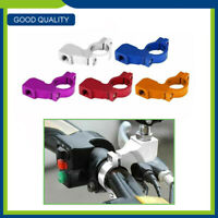 "Aluminum Handlebar Mirror Mount Holder Bracket Clamp 7/8"" 22MM 10mm Adapter"