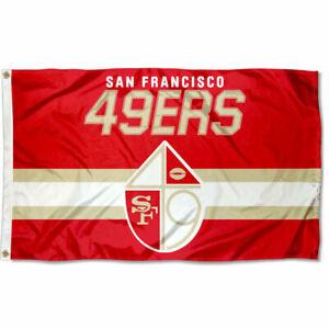 3x5 Foot San Francisco 49ers Throwback Retro Vintage Logo Flag