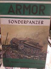 Panzer  sonderpanzer serie armor Whermacht carristi