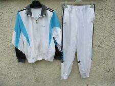 Survêtement ADIDAS TERMINATOR vintage tracksuit blanc tennis Challenger Ventex S