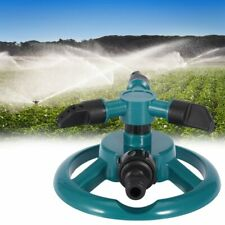 New listing Us 360° Rotating Lawn Sprinkler System Automatic Grass Watering Spray Irrigation