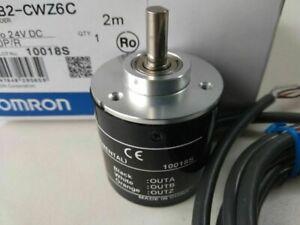 NEW 1PC OMRON 10P Incremental Rotary Encoder 10p/r 5-24v DC E6B2-CWZ6C NPN