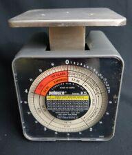 Vintage Pelouze Model K5 Desk Mechanical Postal Scale Capacity 5 Lb X 12 Oz