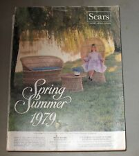 Vintage Sears Spring Summer Sale Catalog 1979