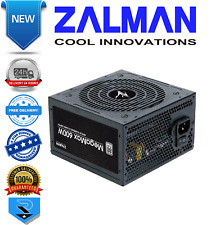 Zalman Megamax (TXII) 600w 80 Plus weiß Non-Modular PSU Netzteil 120mm Lüfter