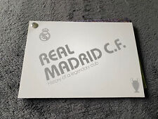 Collectible Real Madrid 13 champions league final winner squads Booklet.