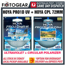 Genuine HOYA Pro1D UV Ultraviolet + CPL Circular Polarizer Camera 72mm Filter