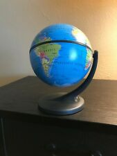 Rotating World Map Globe (720 full rotation)
