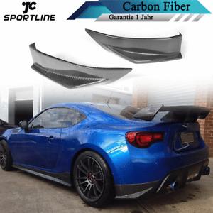 Carbon Hinten Stoßstange Splitter Lippe Passt für Toyota GT86 Subaru BRZ 2013-16