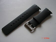 28.8mm Replace Resin Strap Band Fit/Nautica Watch NSR 01 N16533G N13530G Black