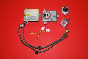 AUDI D3S OEM HID XENON KIT Ballasts + Bulbs B8 A4 S4 A3 Light controller