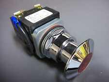 Furnas 52PA3D2WJU  Illuminated Stop Push Button Switch 24 V Series B NOS