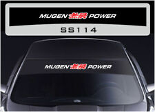 Mugen Power sunstrip sticker decal SS114