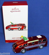 Hallmark Ornament Happy Campers 2014 Motor Home Recreational Vehicle RV NIB