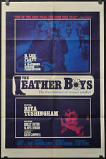 THE LEATHER BOYS 1966 ORIG 27X41 1ST RELEASE MOVIE POSTER RITA TUSHINGHAM