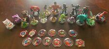 Disney Infinity Lot 18 Figures 12 Power Discs