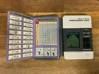 Tandy GO Two Player Championship Golf Handheld Electronic LCD Game