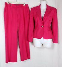Lauren Ralph Lauren Super Soft Pink Silk Pant Suit 8P & 10P ~ EXC!