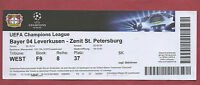 Orig.Ticket   Champions League  14/15  BAYER LEVERKUSEN - ZENIT St.PETERSBURG !!