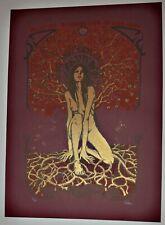 Shora - 2009 Roadburn Festival Silkscreen Concert Poster by Malleus