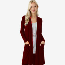Cardigan Winter Pocket Women Long Coat Female Casual Sweater Long Sleeve Knitted