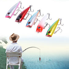 6cm 7g Fishing Lure Topwater Popper Crankbait Hard Bait With Hook Random Color