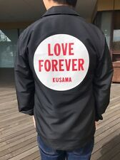YAYOI KUSAMA x  XLARGE® × X-girl 'LOVE FOREVER' Men's Coach's Jacket L Black NWT
