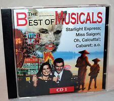 CD THE BEST OF MUSICALS CD 1 - Starlight Express / Cabret u.a.