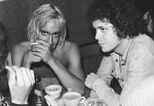 Lou Reed and Iggy Pop Legends Intense  Poster Print