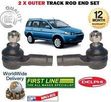 FOR HONDA HRV HR-V 1.6 VTEC 1999-2006 NEW  2x OUTER TRACK RACK TIE ROD END SET