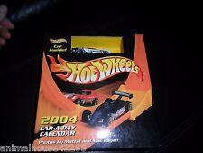 RARE INTERCEPTOR 2004 Mattel Hot Wheels Car-A-Day Calendar PLUS CAR