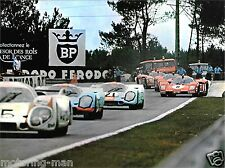 STEVE MCQUEEN LE MANS HOURS FILM PHOTOGRAPH  MIKE DELANEY GULF  PORSCHE 917 RACE