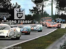 Steve McQueen Le Mans ore film fotografia Mike DELANEY GULF PORSCHE 917 RACE